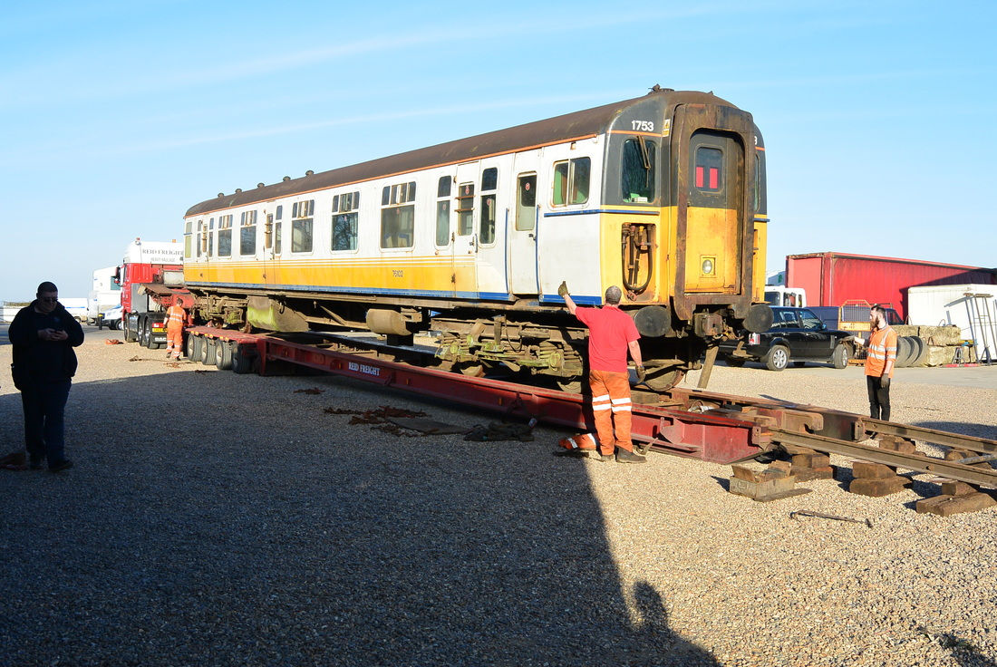 4cig 1753 Network Southeast Railway Society Style In A 7 Way Rv Wiring Diagram Lighting Had Working Parties Laying Track Removing Train Components From East Anglia To New Accommodation With Many Van Loads No Time Has Been Wasted There